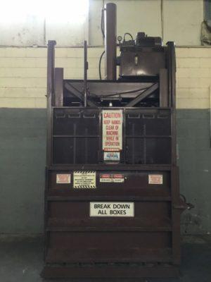 Hamm Bros Inc Downstroke Cardboard Baler 6030HD