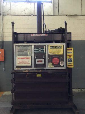 Load King V6030 Downstroke Cardboard Baler