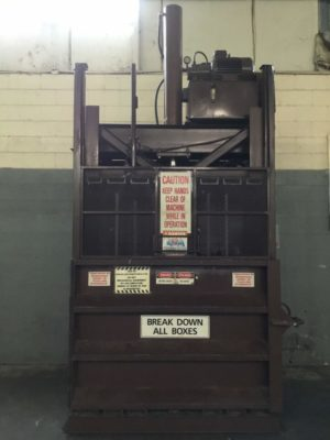 Hamm Bros Inc Downstroke Cardboard Baler 6030HD