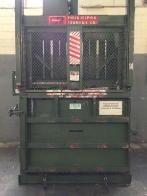 PTR Philadelphia Tramrail Downstroke Cardboard Baler HT10067-O0