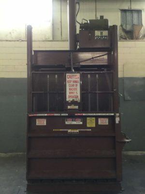 Hamm Brothers INC. Downstroke Cardboard Baler HE10051-XO