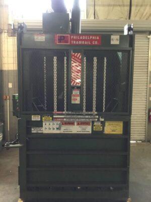 PTR Philadelphia Tramrail Vertical Cardboard Baler HT10069-32