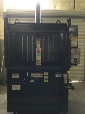 WasteQuip 6030XHD Vertical Cardboard Baler