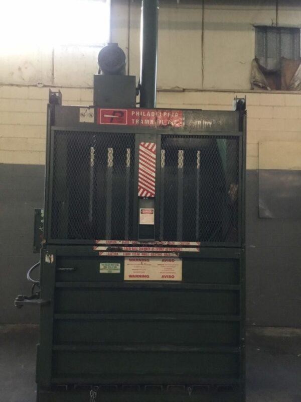 Philadelphia Tramrail Vertical Cardboard Baler HT10067O0