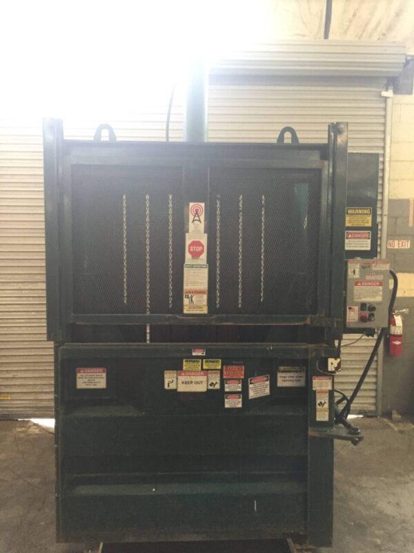 Wastequip 6030XHD Vertical Baler CCR14008