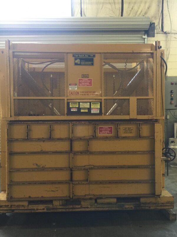 GPI / Ver-Tech Inc. V72435HS / V7240 Low Profile Vertical Cardboard Baler